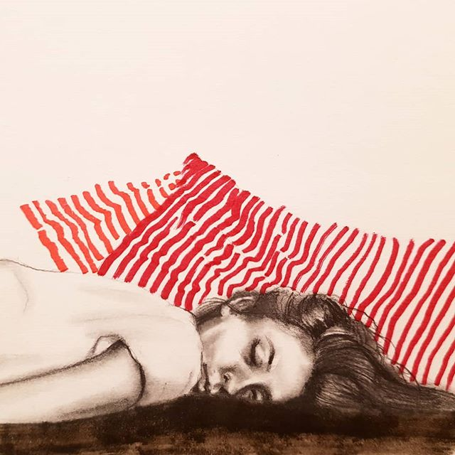Sleeping Pattern Drawing by Marzabal
