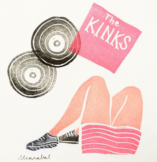 Weekend Illustration by Marzabal