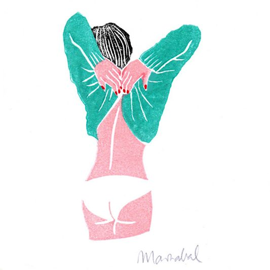 Undress Illustration by Marzabal