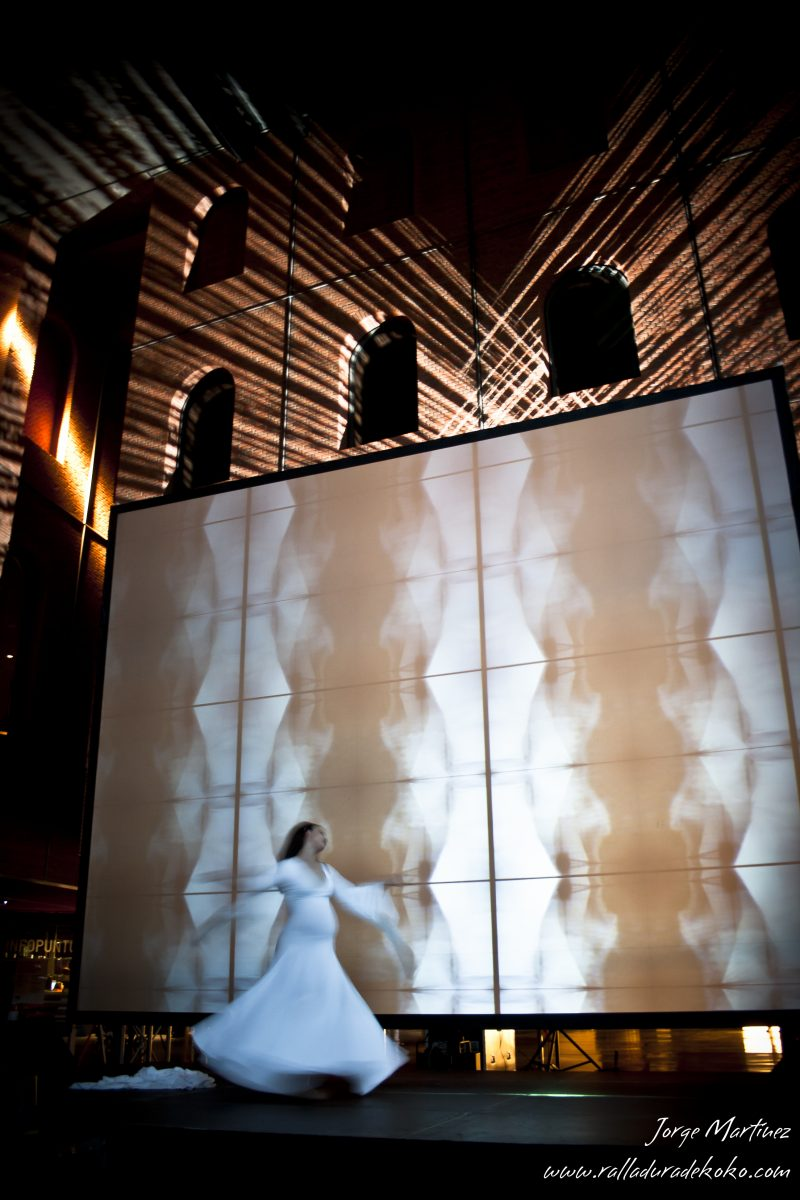 """Psychopompos"" Installation about the gender equality. Azkuna Zentroa, Bilbao, 2010"