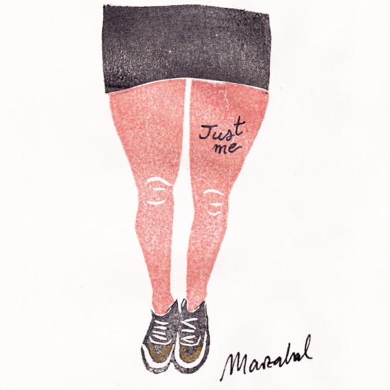 Just Me by Marzabal