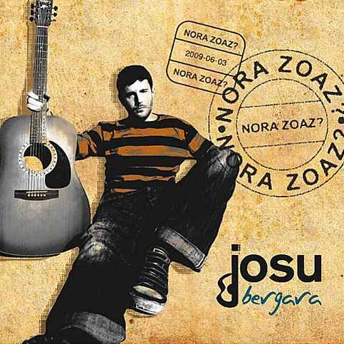 Album design for Josu Bergara, 2009